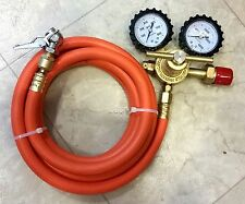 Dual-Purpose Regulator Kit--HVAC & DIY Nitrogen Tire Inflation portable 10' hose