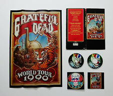 Grateful Dead Without A Net Limited Edition Rick Griffin Poster Picture Disc CD