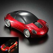 3D Car Shape 2.4G Optical Wireless Mouse Mice USB Receiver For PC Laptop 1600DPI