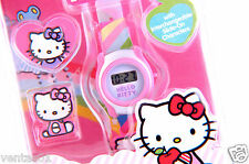 New Hello Kitty LCD Watch with Interchangeable Slide-on Characters