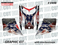 SKI-DOO REBEL REV MXZ SNOWMOBILE SLED WRAP GRAPHICS STICKER DECAL KIT 03-07 0498