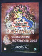 """Yu Gi Oh TCG Promotional Poster Pharaoh's Servant November 2002 24""""x18"""""""