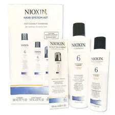 System Kit 6 by Nioxin -Hair Loss Treatment Delivers Smoother Denser-Looking 3pc