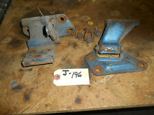 1967 1968  FORD MUSTANG PASS. DOOR HINGES, ORIGINAL PART