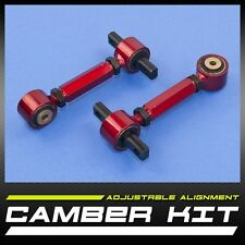 New Pair Left & Right ¦ Rear Camber Kit -2.00 ~ +5.00 ¦ Free Shipping