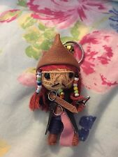 Voodoo Doll, Johnny Depp, Jack Sparrow, Lucky Charm Key Ring, Pirates Caribbean