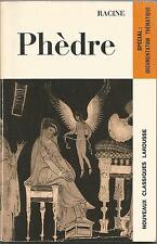 Phèdre - Racine - Nouveaux Classiques Larousse - französisch Theater - documents