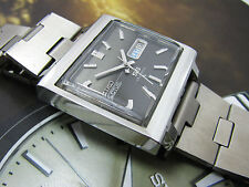 "RARE VINTAGE SEIKO 5 ""ACTUS SS"" TV 6106-5440 23J AUTO MENS WATCH JDM HACKS BLACK"