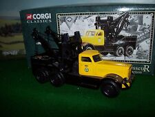 Corgi Modern Heavy Haulage 55605 Diamond T Wrecker Blackpool Transport 1/50