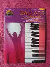 Partitions BALLADS Volume 11 Piano Vocal Guitare CD ballade Richie Dion Beatles