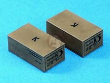 Legend 1/35 US Army K-Ration Box Set WWII (8 pieces) [with Decal] LF1301