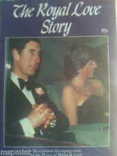 PRINCESS DIANA THE ROYAL LOVE STORY RARE ENGAGEMENT MAGAZINE UK