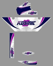 Kosmic style rotax radiator sticker kit-karting