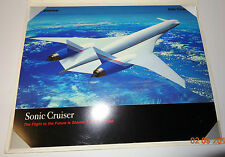 Boeing Sonic Cruiser Picture Brochure Two Sided Collector