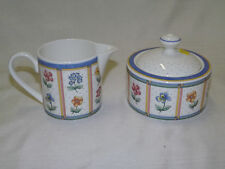 Villeroy & Boch - JULIE - Covered Sugar Bowl & Creamer