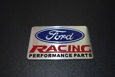Ford Racing Performance Embossed Metal Car Auto Badge Emblem Sticker Logo Motor