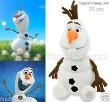 35 cm Small Cute Frozen Olaf Snowman Snow Man Soft Plush Stuffed Teddy Doll Toy