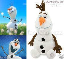 35 cm Small Cute Frozen Olaf Snowman Snow Man Soft Plush Stuffed Teddy Doll Toy