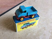 MATCHBOX REGULAR WHEEL No 49b MERCEDES UNIMOG , BOXED