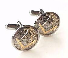 Mason Masonic Craft Order Crested Cufflinks (N3)
