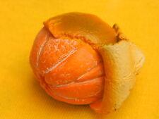 Orange Whole Peeled Peel Fruit Food Vegetable Refrigerator 3D Fridge Magnet