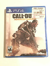 PS4 CALL OF DUTY ADVANCED WARFARE VIDEO GAME.