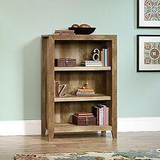 Sauder 418531 Dakota Pass 3-Shelf Bookcase Craftsman Oak New