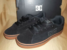 NEW! DC Notch SD  Suede LEATHER  Mens size 10 Black & Brown  Skate Casual Shoes
