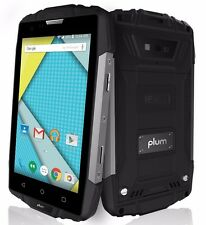 Rugged 4G Smart Phone Android 6  8 MPX Camera 8+1 GB Memory QuadCore Z405 BlkSLV