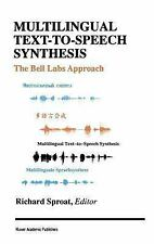 Multilingual Text-to-Speech Synthesis: The Bell Labs Approach-ExLibrary