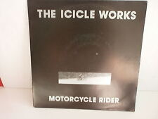 THE ICICLE WORKS Motorcycle rider 655672 7 PHOTO MOTO