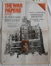 THE WAR PAPERS PART 26 DAILY TELEGRAPH JANUARY 15TH 1943