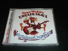 CD.STAN WEBB'S CHICKEN SHACK.ROADIES CONCERTO.SUPER LIVE 81. NEUF SOUS CELL