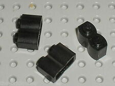 3 x LEGO Black brick log ref 30136 / set 4730 8364 3053 3052 7186 4502 4508 4746