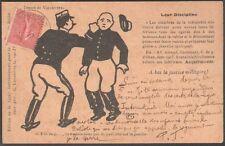 A bas la justice militaire. Leur discipline. Jossot, Kupka, Vallotton. 1903