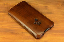 ANTIQUE Samsung Galaxy Note 4 Case Leather  Cover Sleeve Pouch Holder
