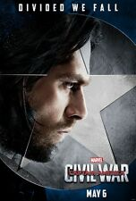 POSTER CAPTAIN AMERICA CIVIL WAR CAPITAN SOLDATO D'INVERNO WINTER SOLDIER #11