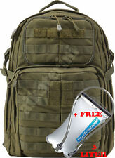 5.11 Tactical Rush 24 backpack Tac Od - New with tags + Hydrapak Fox 3L Bladder