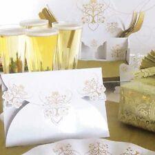 8 Rústico Crema invitaciones de boda y sobres con Save The Date Tarjetas