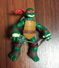 Teenage Mutant Ninja Turtles Basic Raphael Action Figure Playmates TMNT USED JC