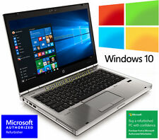 HP LAPTOP ELITEBOOK 8460p i5 2.5GHz 4GB DVDRW WEBCAM WINDOWS 10 WIN WiFi PC