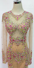 WINDSOR Multi Formal Pageant Evening Prom Gown S - $400 NWT