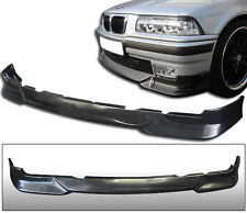 Fit 92-98 BMW E36 325 328 318 3 Series M Tech Style PU Front Bumper Lip Spoiler