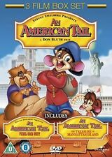 An American Tail Fievel Goes West The Treasure of Manhattan Island DVD New