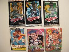 1995 CARDTOONS TRADING CARD SET (BASEBALL CARD PARODY SET) (115 DIFF. CARDS)