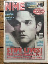 NME 2/1/93 R.E.M. cover, Afghan Whigs Arrested Development Bob Mould, Harry Hill