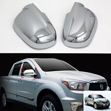 Chrome Side Rear View Mirror Molding Trim Cover for 06+ Ssangyong Actyon Sports