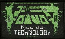 VOI VOD AUFNÄHER / PATCH # 7 KILLING TECHNOLOGY