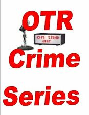 OLD TIME RADIO CRIME AND DETECTIVE 9 DVDS 6700+ SHOWS