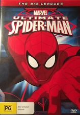 Marvel Ultimate Spider-Man The Big Leagues Region 4 DVD VGC
